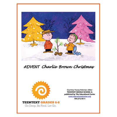 -TeenText ADVENT MS CHARLIE BROWN CHRISTMAS Cover