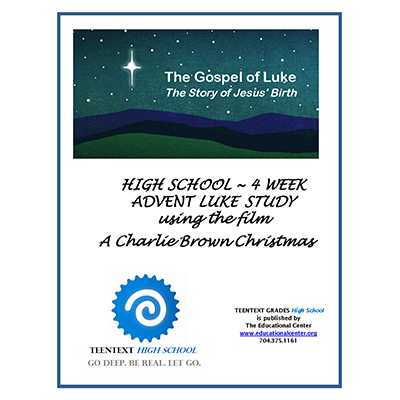 TeenText HS Advent Luke Charlite Brown Christmas