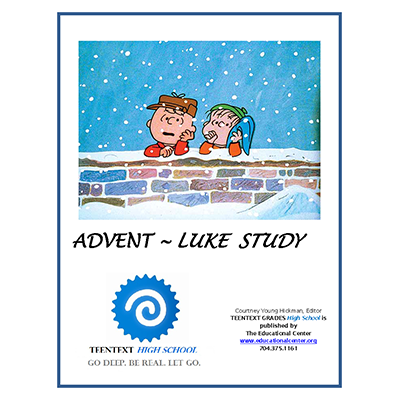 TeenText HS ADVENT LUKE CHARLIE BROWN CHRISTMAS Cover