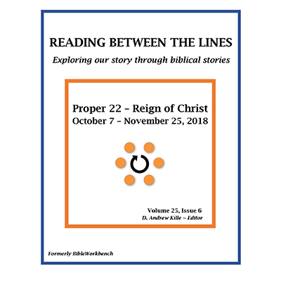 Reading Between The Lines Oct 7 - Nov 25 2018