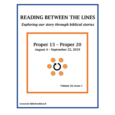 Reading Between The Lines - August 4 - September 22 2019