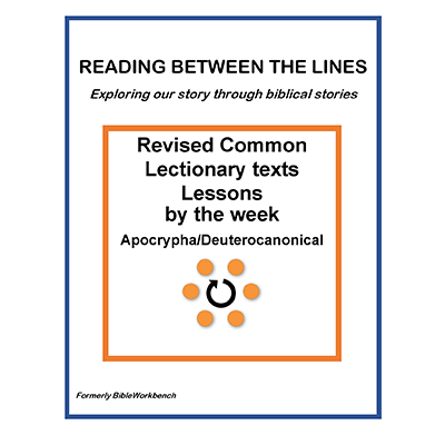 Reading Between The Lines - Weekly - Apocrypha/Deuterocanonical