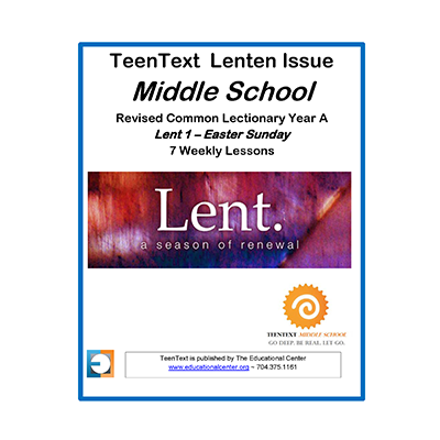TeenText Lent Year A